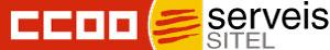 Logotipo CCOO Sitel