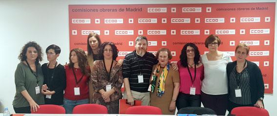Constitución Sección Sindical Estatal CCOO Grupo Día