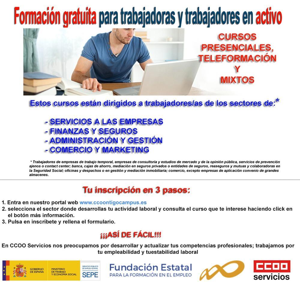 Formacion subvencionada gratuita
