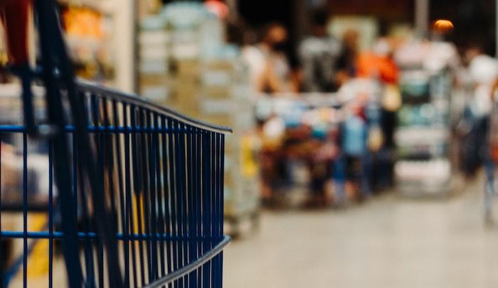 carrito de la compra en un supermercado