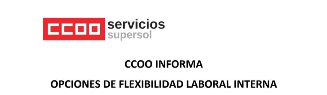 Supersol medidas de flexibilidad interna y Plan MECUIDA