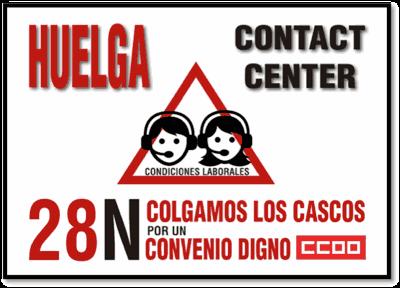 Huelga telemarketing 18-N