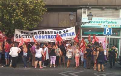 Concentración convenio contact center