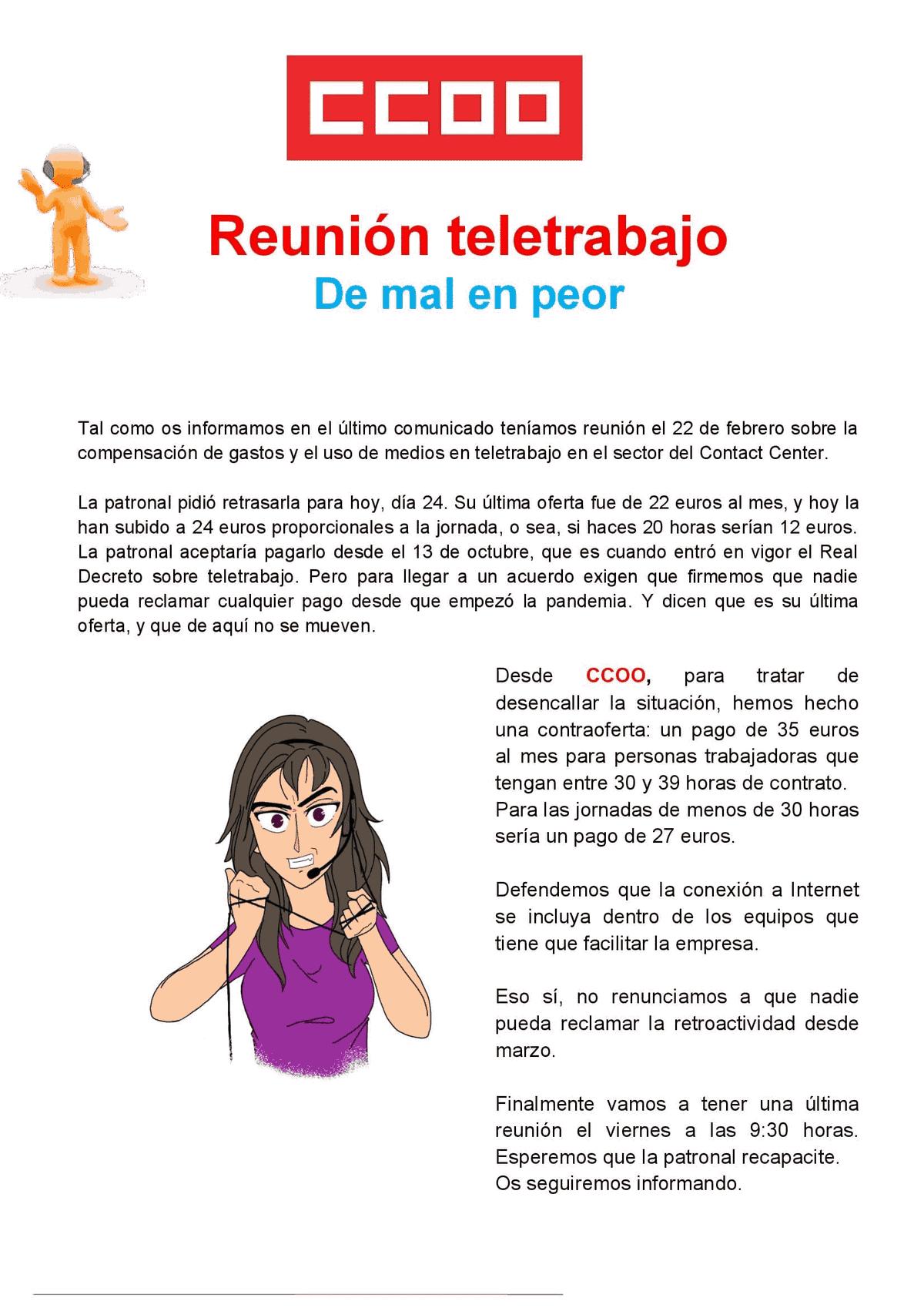 Teletrabajo contat center