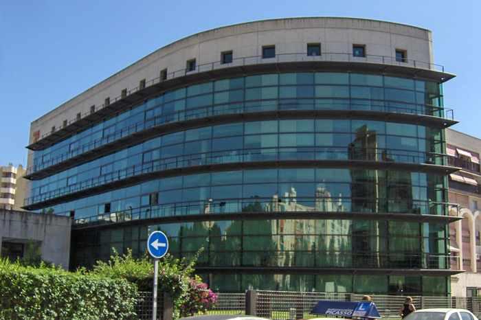 Edificio Tesoreria General de la Seguridad Social Málaga