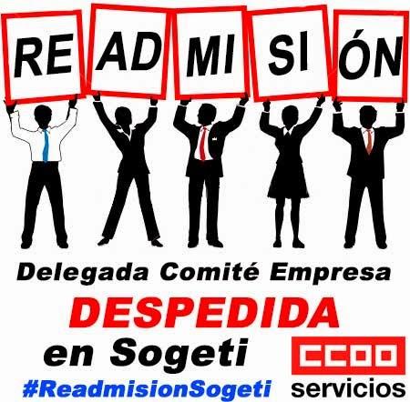 Readmisión despedida Sogeti