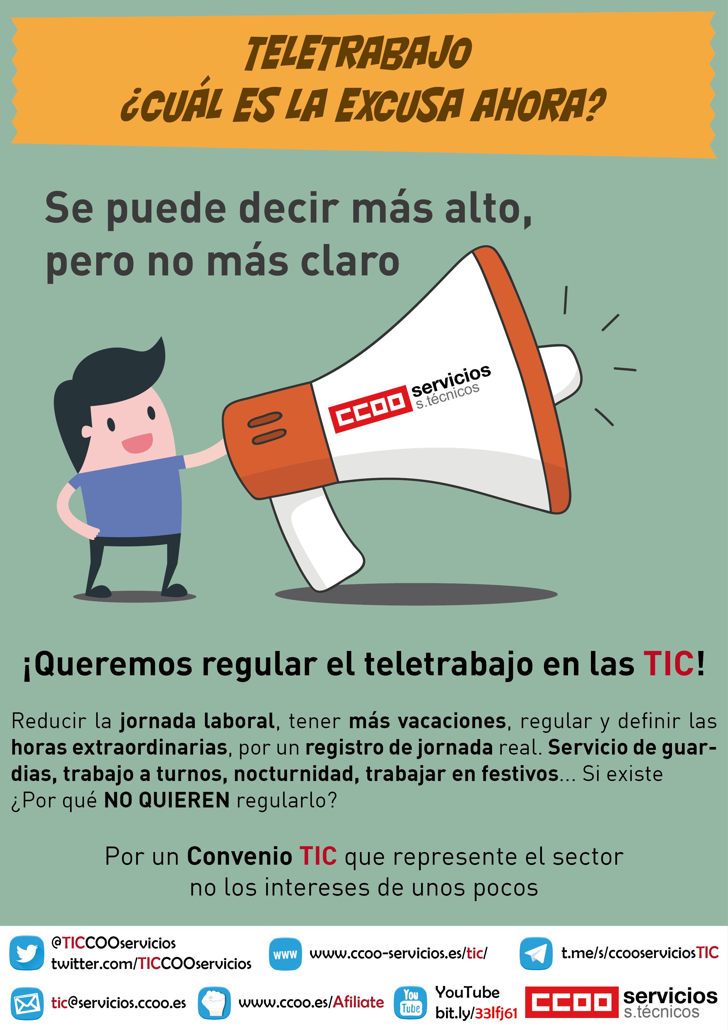 Teletrabajo en TIC