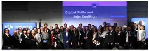 Habilidades digitales y Coalición de empleos