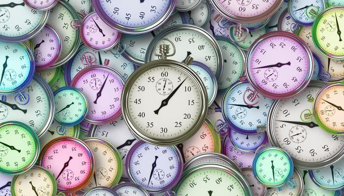 Relojes ilustran Registro de Jornada