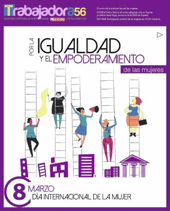 Revista trabajadora numero 56. Mujer CCOO