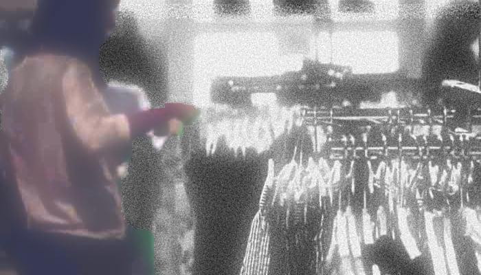 Trabajadora del comercio textil