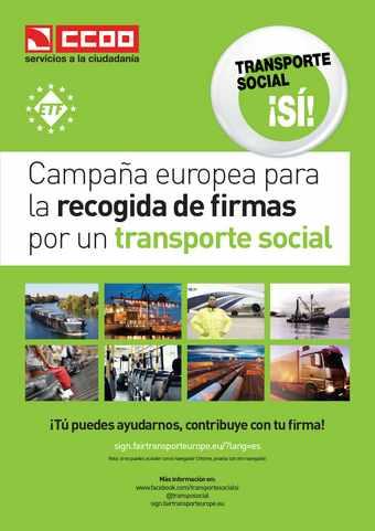 Campaña transporte social