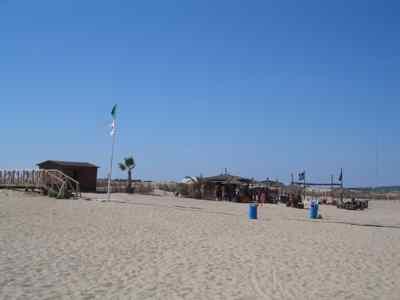 El turismo en España. Imagen chiringuito de playa