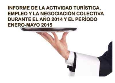 Informe actividad turistica en España