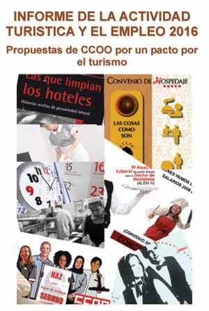 Informe de la Actividad Turística y el Empleo 2016