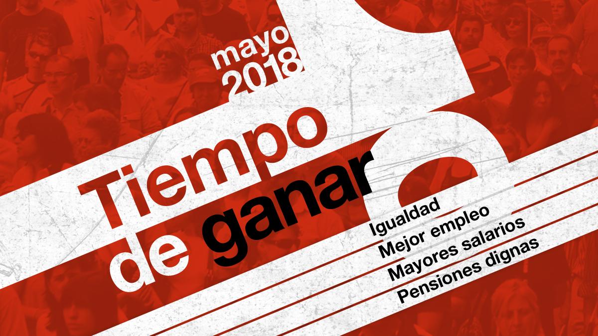 Participa en el primero de mayo