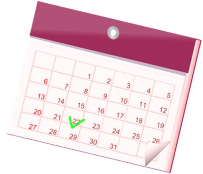 Calendario vacaciones