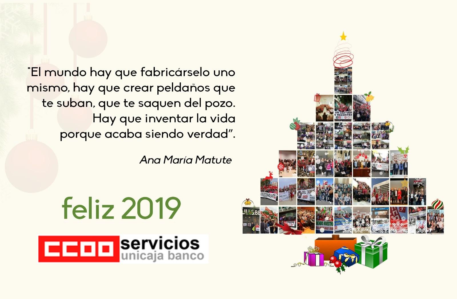 FELICES FIESTAS Y FELIZ 2019
