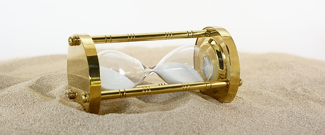 Reloj de arena que no avanza