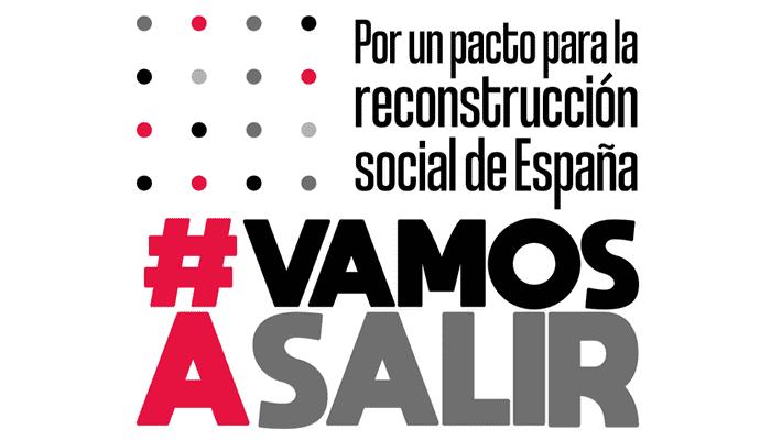 Manifeiesto #VamosASalir. Por un pacto para la reconstrucci�n social de Espa�a