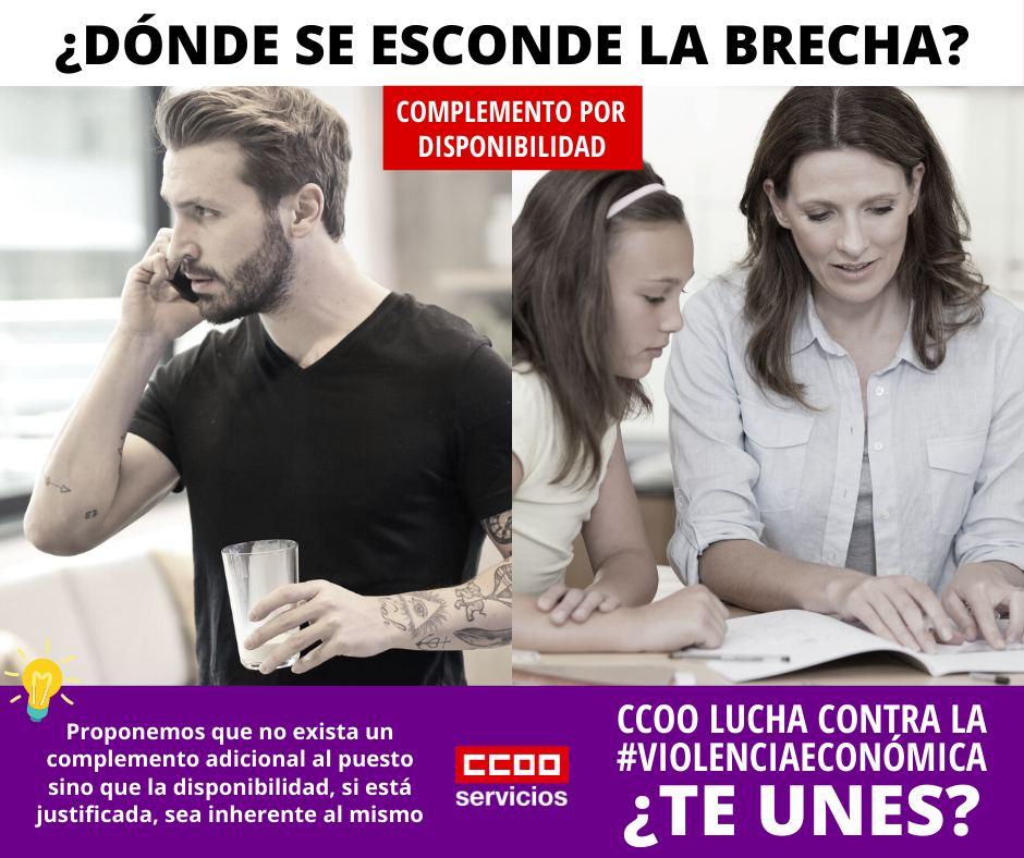 CCOO contra la violencia económica