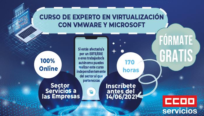 Curso Experto en virtualización con WM Ware y Microsoft.