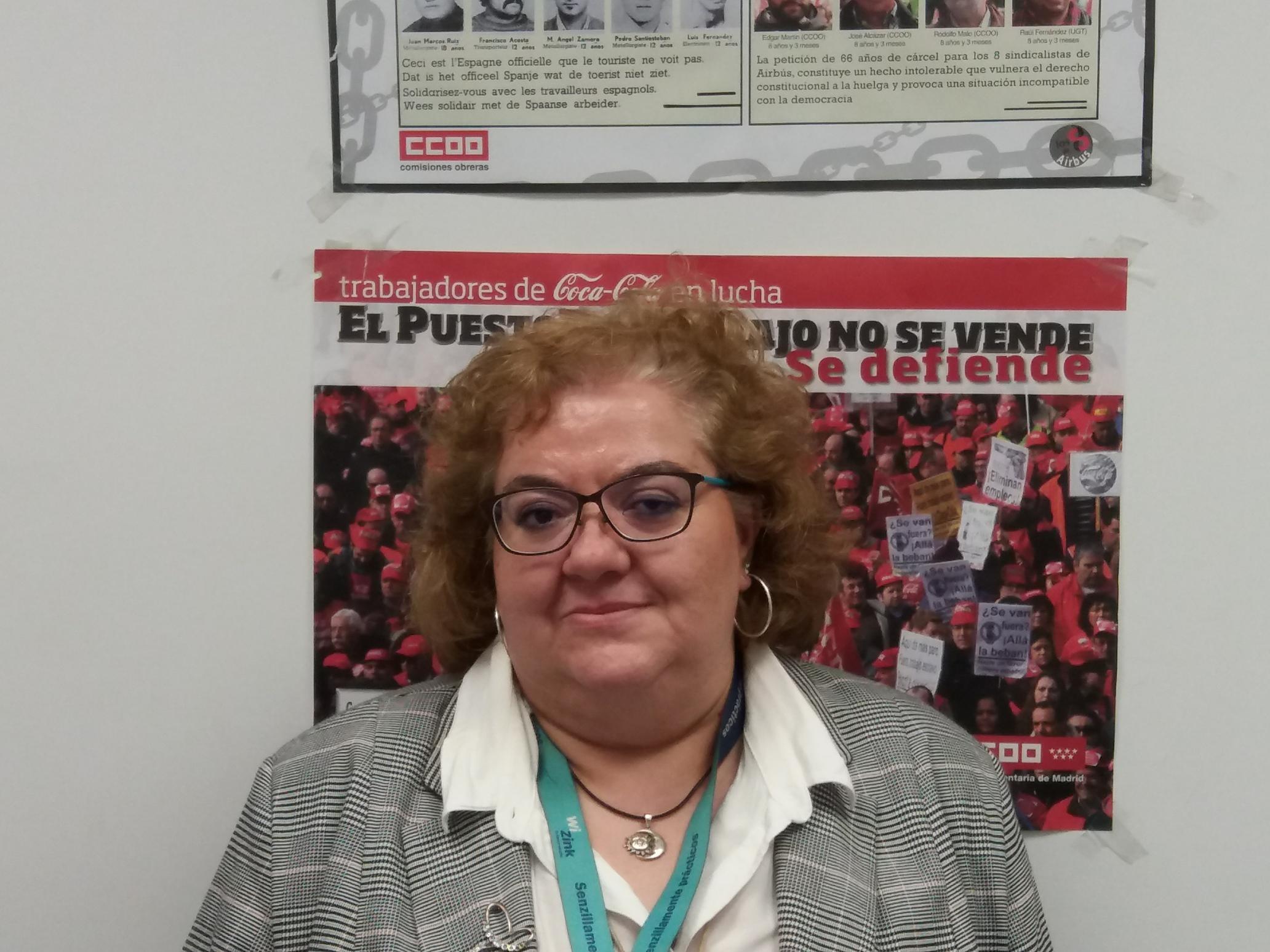 Soledad - miembro del comite de empresa