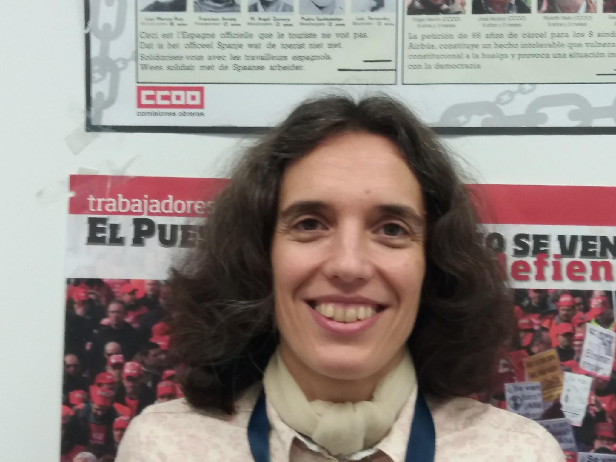 Miriam - secretaria de la mujer