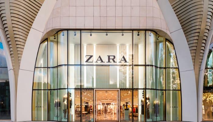 Tienda de ZARA. Grupo Inditex